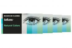 SofLens Natural Colors 4 x 2 farbige Monatslinsen