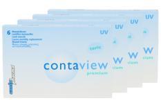 Contaview premium toric UV, 4 x 6 Stück Kontaktlinsen von Contopharma