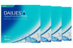 Dailies AquaComfort Plus Toric Sparpaket 6 Monate 2x180 Stück Kontaktlinsen, von Ciba Vision / Alcon