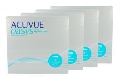 Acuvue Oasys 1-Day with HydraLuxe Kontaktlinsen von Johnson&Johnson, Sparpaket 6 Monate 2x180 Stück