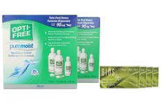 Bios Tori 1-Monat Kontaktlinsen von Conil & Opti Free Pure Moist, Jahres-Sparpaket
