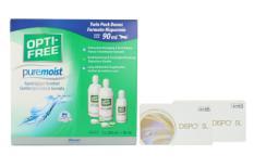 Dispo SL Kontaktlinsen von Conil & Opti Free Pure Moist, Halbjahres-Sparpaket