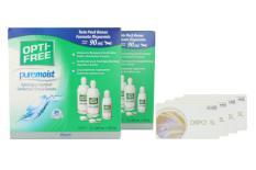 Dispo SL Kontaktlinsen von Conil & Opti Free Pure Moist, Jahres-Sparpaket