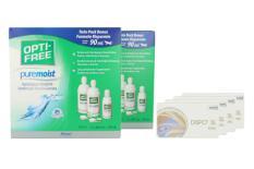 Dispo SL Toric Kontaktlinsen von Conil & Opti Free Pure Moist, Jahres-Sparpaket