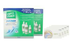 Dispo SL Multi, 4 x 6 Stück Kontaktlinsen von Conil & Opti Free Pure Moist, Jahres-Sparpaket