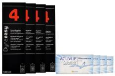 Acuvue Oasys Kontaktlinsen von Johnson & Johnson + Dynaeasy 4 - Halbjahres-Sparpaket