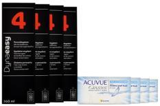 Acuvue Oasys for Astigmatism Kontaktlinsen von Johnson & Johnson + Dynaeasy 4 - Halbjahres-Sparpaket