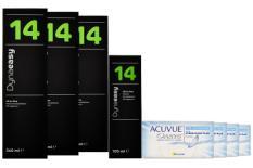 Acuvue Oasys for Astigmatism Kontaktlinsen von Johnson & Johnson + Dynaeasy 14 - Halbjahres-Sparpaket