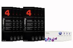 Biofinity multifocal Kontaktlinsen von Cooper Vision & Dynaeasy 4, Jahrespaket
