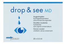 drop & see Contopharma Benetzung 20x 0.5ml