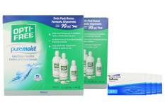 SofLens 59 Kontaktlinsen von Bausch & Lomb & Opti Free Pure Moist, Jahres-Sparpaket