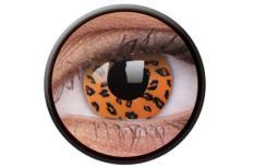 Funny Lens Yellow Leopard 2 Motiv-Jahreslinsen