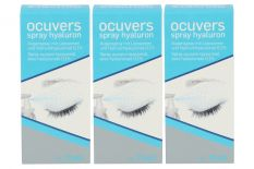 Ocuvers Spray Hyaluron 3 x 15 ml Augenspray