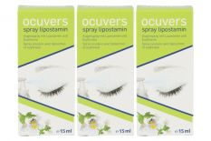 Ocuvers Spray Lipostamin 3 x 15 ml Augenspray