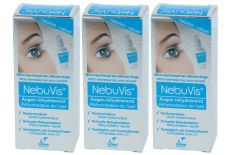 NebuVis Augen rehydrierend 3 x 10 ml Augenspray