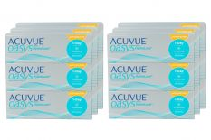 Acuvue Oasys 1-Day for Astigmatism Kontaktlinsen von Johnson&Johnson, Sparpaket 9 Monate 2x270 Stück