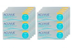 Acuvue Oasys 1-Day for Astigmatism with HydraLuxe Kontaktlinsen von Johnson&Johnson, Sparpaket 12 Monate 2x 360 Stück