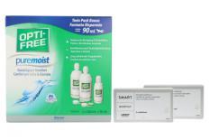 Lensy Monthly Smart Multifocal 2 x 6 Monatslinsen + Opti Free Pure Moist Halbjahres-Sparpaket