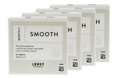 Lensy Monthly Smooth Spheric, 4 x 6 Stück Kontaktlinsen von Dynoptic