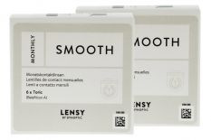 Lensy Monthly Smooth Toric 2 x 6 Monatslinsen