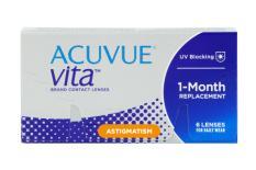 Acuvue Vita for Astigmatism, 6 Stück Kontaktlinsen von Johnson & Johnson
