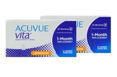 Acuvue Vita for Astigmatism, 2x6 Stück Kontaktlinsen von Johnson & Johnson