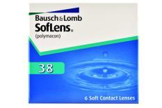 SofLens 38, 6 Stück Kontaktlinsen von Bausch & Lomb
