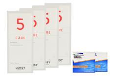 SofLens 66 Toric Kontaktlinsen + Lensy Care 5 - Halbjahres-Sparpaket