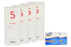 SofLens 66 Toric 2 x 6 Monatslinsen + Lensy Care 5 Halbjahres-Sparpaket