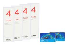 Dispo MultiSiL 2x6 Monatslinsen + Lensy Care 4 Halbjahres-Sparpaket
