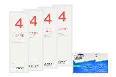 SofLens 38 Kontaktlinsen & Lensy Care 4, Halbjahres-Sparpaket