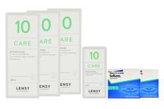 SofLens 38 Kontaktlinsen & Lensy Care 10, Halbjahres-Sparpaket