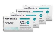 Gentle 80 Monthly Multifocal 4 x 3 Monatslinsen
