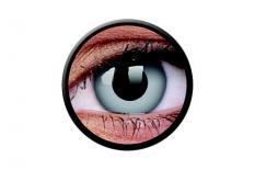 Funny Lens 2 Motiv-Drei-Monatslinsen Zombie Grey