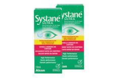 Systane Ultra 2 x 10 ml Augentropfen ohne Konservierungsstoffe von Alcon