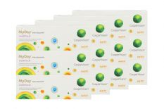 MyDay Multifocal daily disposable 4 x 90 Tageslinsen Sparpaket 6 Monate