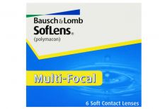 SofLens Multifokal, 6 Stück Kontaktlinsen von Bausch & Lomb